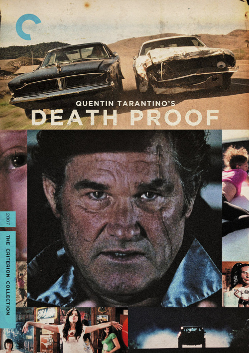 "Criterion Cover for Quentin Tarantino's ""Death Proof"""