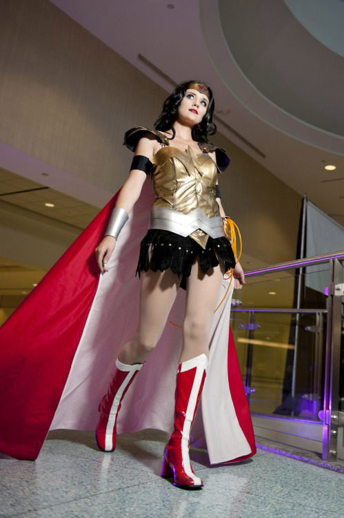 gailsimone:  dangerous-ladies:  Donna Troy (Wonder Woman) Photographer: Baron Karza/Sam Cosplayer: Jenn  Wow. Just wow.