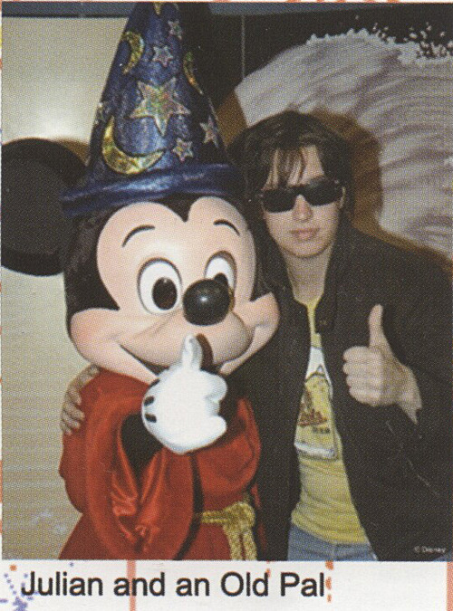 geoboosh:  Julian and Mickey Mouse.