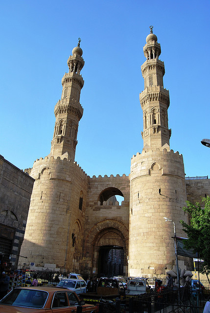 Cairo - Bab Al Zuwela by zishsheikh on Flickr.