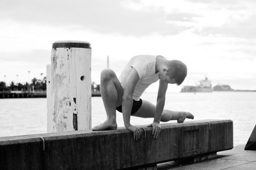 Ben. Newcastle Wharf by urbanballerina_ on Flickr.