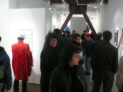 Exhibition opening, Seattle.