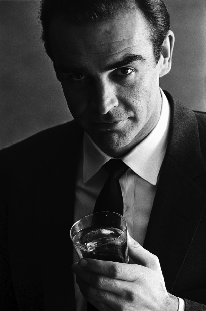 Terence Donovan - Sean Connery, 1962 Advertising Shoot For Smirnoff Vodka
