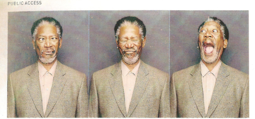 look-likelove:  Morgan Freeman, I love you.