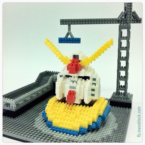 nanoblock Gundam Factory … http://fb.inanoblock.com for more …