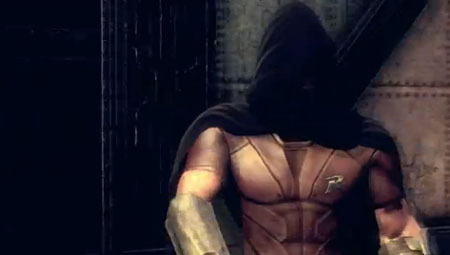 ARKHAM CITY: ROBIN Available from Tuesday the 22nd of November 2011Robin fans (that didn't get Robin with their pre-order) will finally be getting their hands on the Boy Wonder in the upcoming Robin Bundle DLC. Playable only in challenge modes and including the following skins- Red Robin, 1960s Robin and Robin from Batman: The Animated Series. The bundle will also include two extra challenge maps- Runaway Train and the Slaughterhouse.