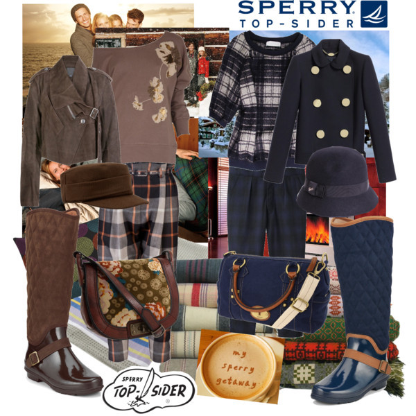 Prepare for your Winter Share with Sperry Top-Sider by mako87 featuring plaid pantsFrench Connection long sleeve shirt, £40Cacharel flannel shirt, $625Mulberry double breasted jacket, $1,100Alexander Wang biker jacket, $1,485Rachel Comey plaid pants, $322Vivienne Westwood Anglomania plaid pants, £349Sperry Top-Sider sperry top sider boots, $98Sperry Top-Sider sperry top sider boots, $140Fossil satchel, $90FOSSIL vintage handbag, $178Gucci hat, £195Beanie hat, $7.99A Pair of Carmel Tea Towels - 100% Cotton, £11Tegan 18x12 Pillow, $9.95