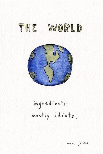 The world by Marc Johns