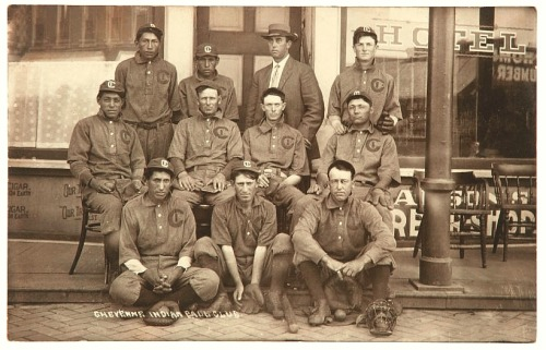 1900's Nebraska Cheyenne Indian Ball Club