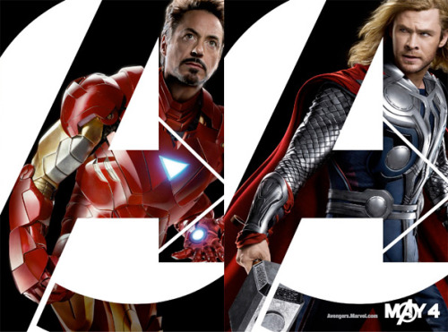 "INDIVIDUAL CHARACTER POSTERS FOR ""The Avengers"""