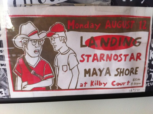 Landing, Star No Star, Maya Shore, 2004 (Kilby Court) -submitted by Aaron Snow