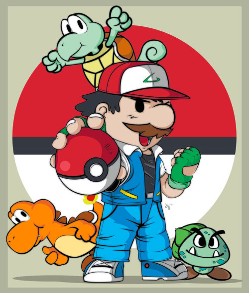 pillositio:  Pokémon Mario Bros