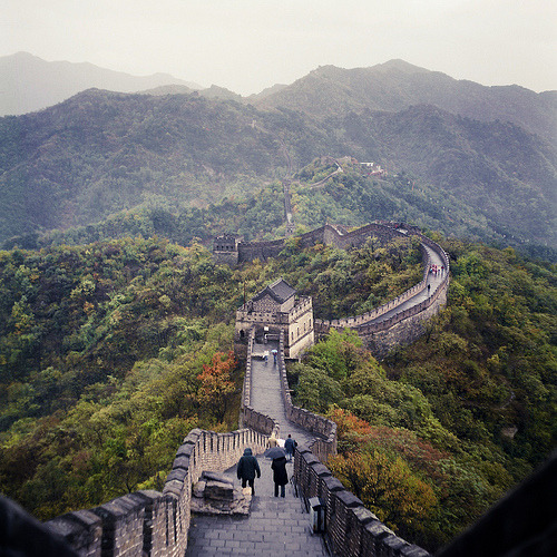 black-wolves:  The Great Wall (by Dicky Chalmers)