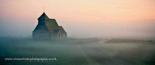 Church In The Mist 2. by ziggystardust111 on Flickr.