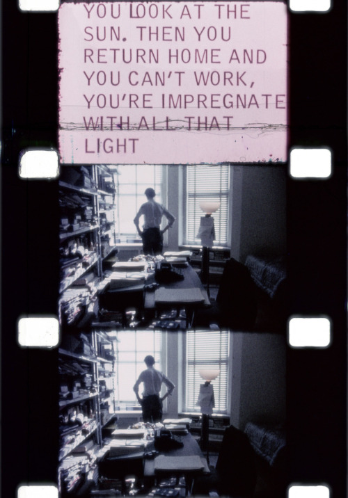 pnguye:  from Diaries, Notes, and Sketches, Jonas Mekas, 1965-1969.