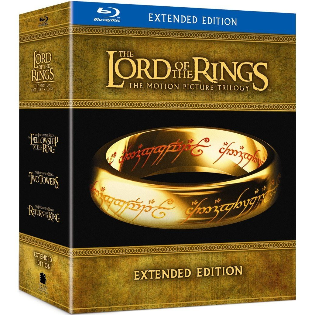 Geeky Deal: 'The Lord of the Rings Trilogy' Extended Edition on Blu-Ray for Only $49.99!! via GeekRest