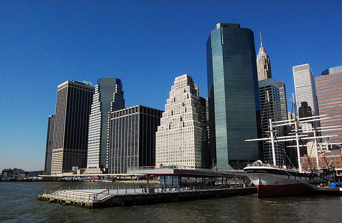 Financial District from Boat (by itsmesara / tsara90)