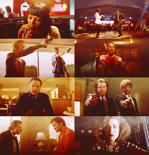 "300 FAVORITE MOVIES (in no particular order)  54. Pulp Fiction (1994) ""That's when you know you've found somebody special. When you can just shut the fuck up for a minute and comfortably enjoy the silence."""