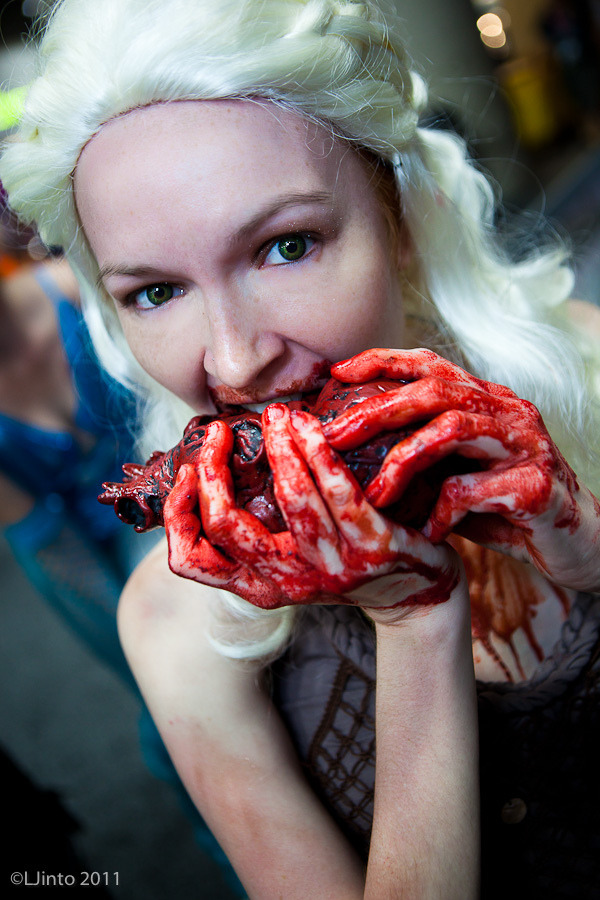 A great shot LJinto took of me as Daenerys from Game of Thrones at San Diego Comic-Con.