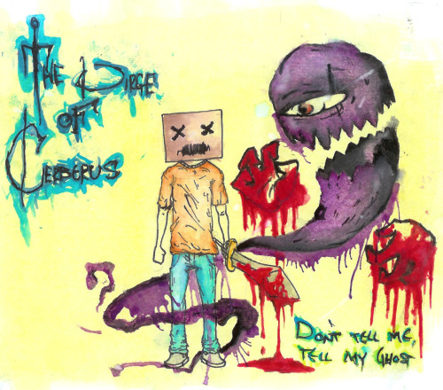 The Dirge Of Cerberus demo Don't Tell Me, Tell My Ghost shit i draw when i get bored