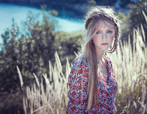 wishwondersurprise:  altphotos, beautiful girl, blonde, braid, dreamy, fashion - inspiring picture on Favim.com on We Heart It. http://weheartit.com/entry/18032651