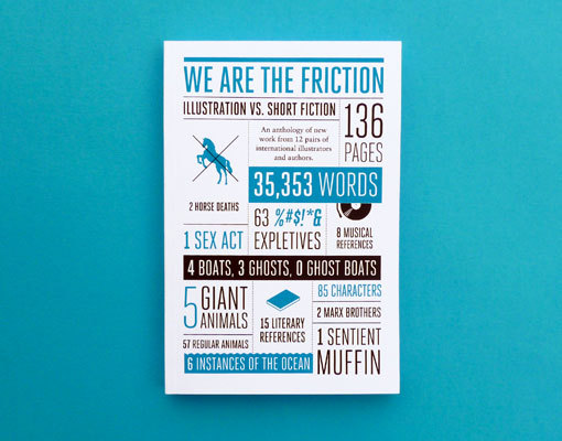 revolverstudio:  We Are The Friction is a full-color pub­li­ca­tion cre­ated by Sing Statistics
