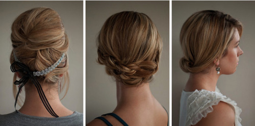 alwaysbridesmaid:  Beautiful Wedding Hairstyles