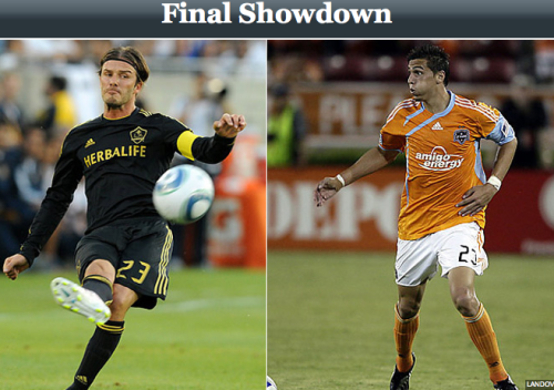 Alright MLS Fans Cue the Dramatic Music  LA Galaxy vs Houston Dynamo.  Watch on ESPN & ESPN3 21:00 EST Which side will you be supporting?