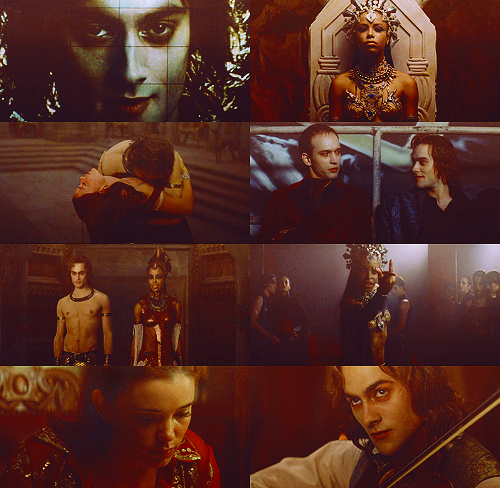 300 FAVORITE MOVIES (in no particular order)  55. Queen of the Damned (2002) Journalist: Do you have anything you want to say to the other vampires listening out there?Lestat: As a matter of fact, I do. Come out, come out, wherever you are.