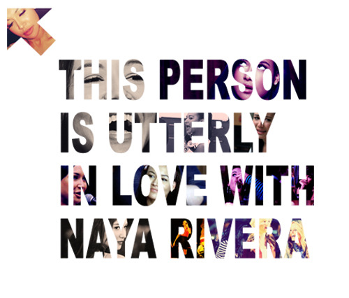 I love Naya Rivera.