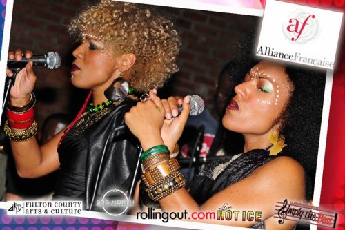 Les Nubians performing at 595 North in Atlanta, GA on November 17th. Check out the rest of the pics at http://on.fb.me/t7zupE and http://on.fb.me/vw6ddf. (Photos by: Raymond Hagans.)