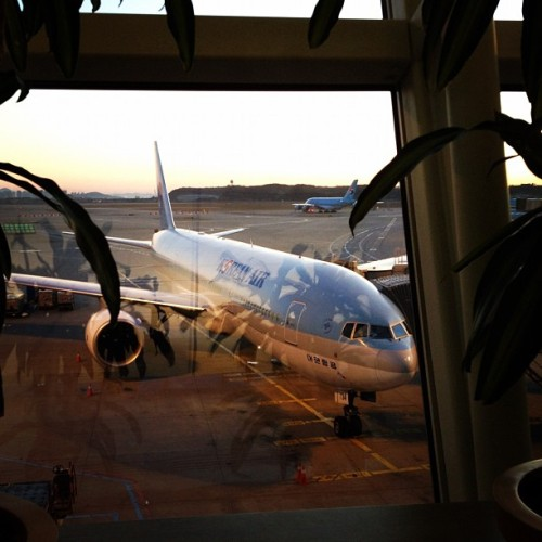 # koreanair (Taken with instagram)