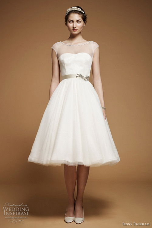 """Nymph"" wedding gown from Jenny Packham The Dress of The Week   Jenny Packham Bridal 2012 - Belle the Magazine"