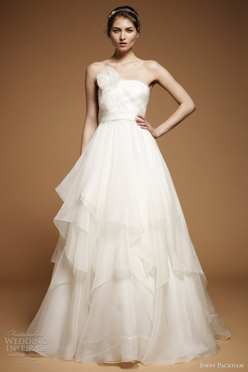 """Peony"" wedding gown from Jenny Packham The Dress of The Week   Jenny Packham Bridal 2012 - Belle the Magazine"