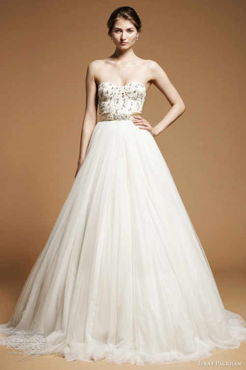 """Anya"" wedding gown from Jenny Packham The Dress of The Week   Jenny Packham Bridal 2012 - Belle the Magazine"