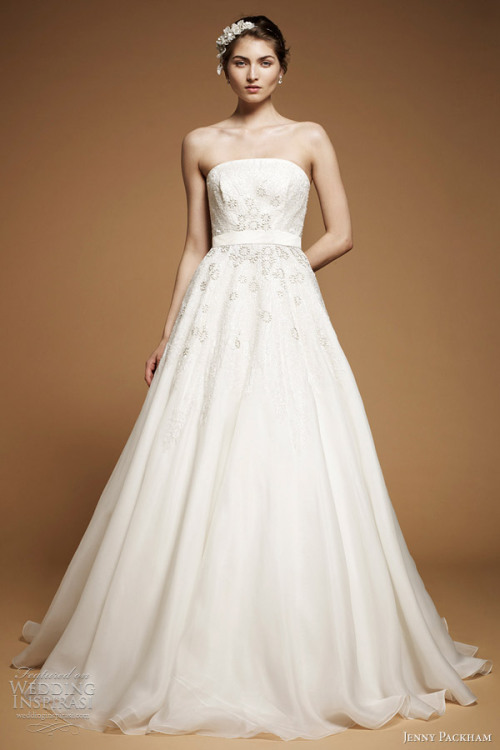 """Midsummer"" wedding gown from Jenny Packham The Dress of The Week   Jenny Packham Bridal 2012 - Belle the Magazine"