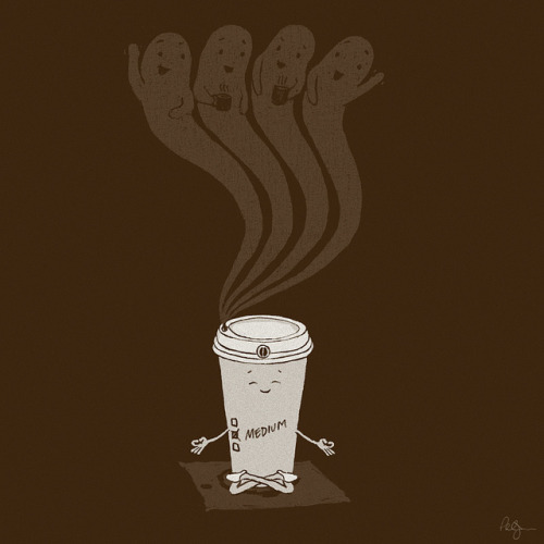 camsgiraffe:  Medium Coffee by phildesignart on Flickr.