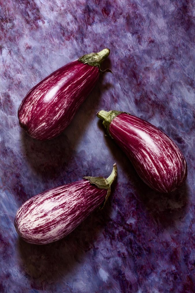 Hard Rock Vegetables - Aubergines