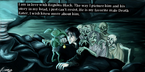 harrypotterconfessions:  drawing from here graphic submitted.  R.A.B. is wicked awesome!