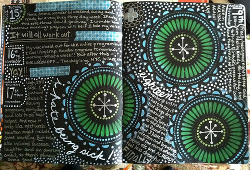 artjournaling:  Day 19 (by libookperson)