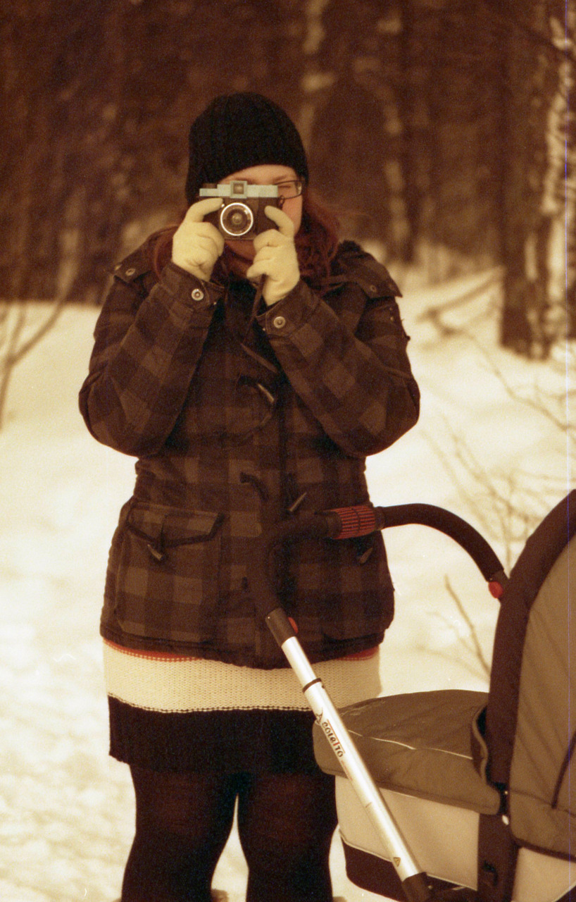 Diana F in winter