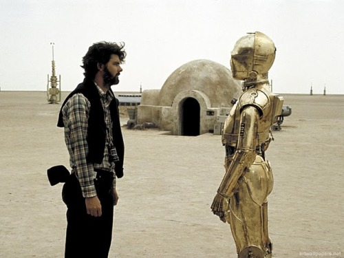 """You know what 3PO? I could just CG over you. I could just CG this whole damn movie over! How about that?!"""