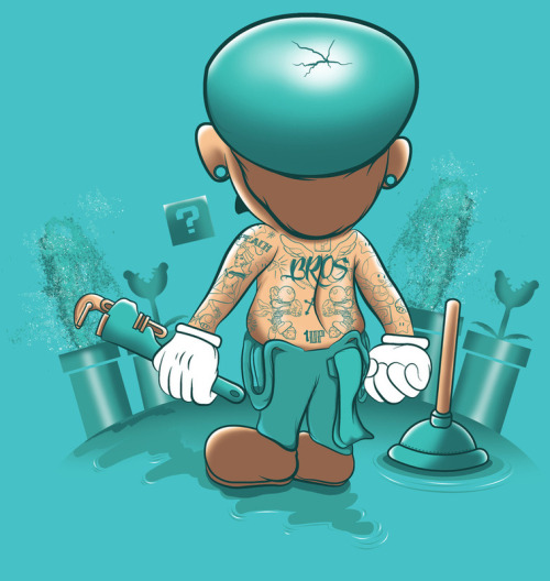 oliphillips:  It's a Plumber's Hard Life! by SINR