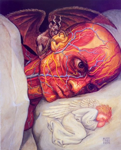 2headedsnake:  alexgrey.com alex grey
