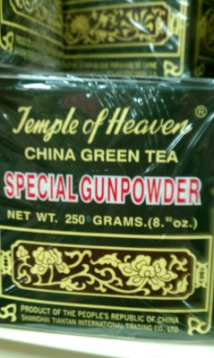 This tea will blast you away. ….I actually don't know how it tastes.