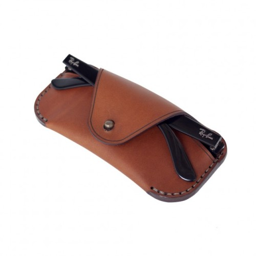 Makr Eyewear Sleeve in Saddle Tan