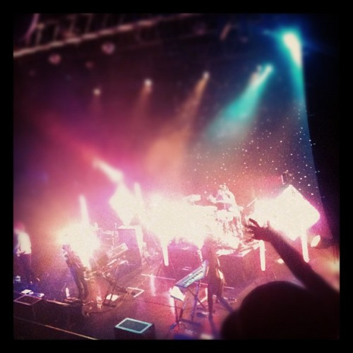 M83…aka explosion of light, lasers and audio (Taken with instagram)