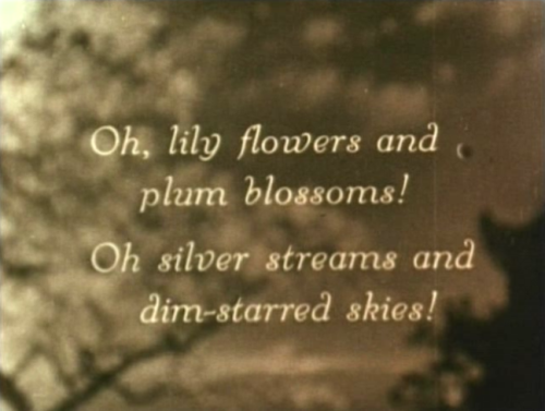 silent-films:  Broken Blossoms, 1918.