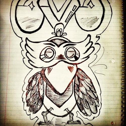 Another doodle 📝 #doodle #art #pen #oVo  (Taken with instagram)
