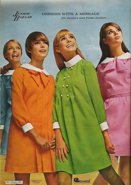 thecarnabetianarmy:  Sears, 1968 (corbyfans) The green one :)